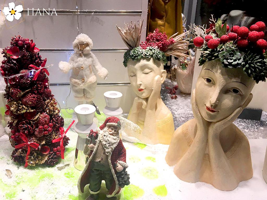 Hana Floristeria Boadilla del Monte. Adornos Navidad